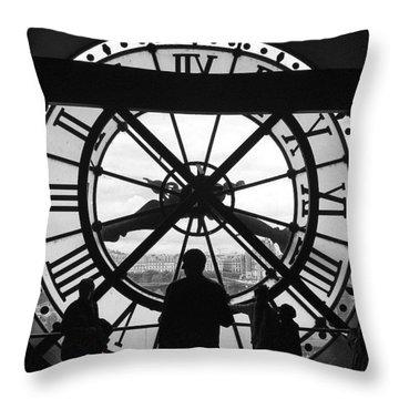 Like Clockwork Throw Pillow