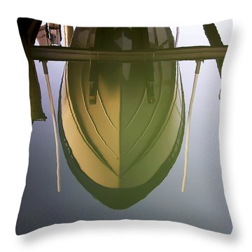 Like Glass Throw Pillow by Brian Wallace