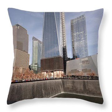 Throw Pillow featuring the photograph Like The Phoenix by Anne Rodkin