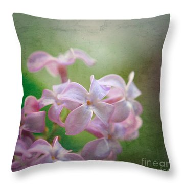 Lilac Dreaming  Throw Pillow