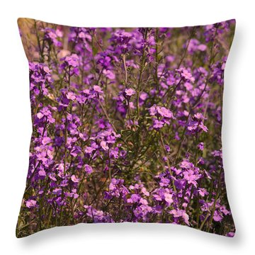 Lilac Throw Pillow by Svetlana Sewell