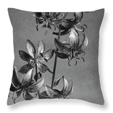 Lilium Hansonii Throw Pillow