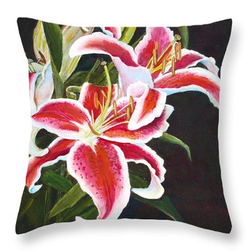 Lilli's Stargazers Throw Pillow
