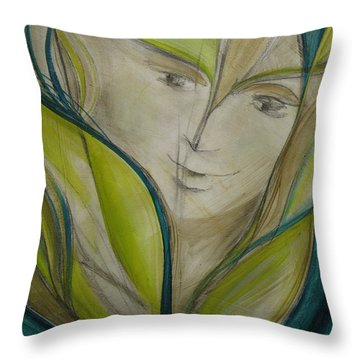 Lily Of My Valley  Throw Pillow