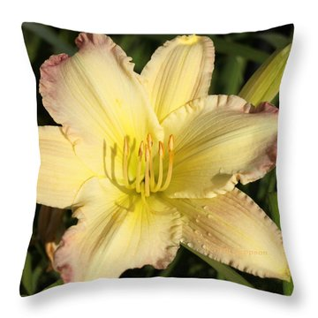 Lily Square Throw Pillow