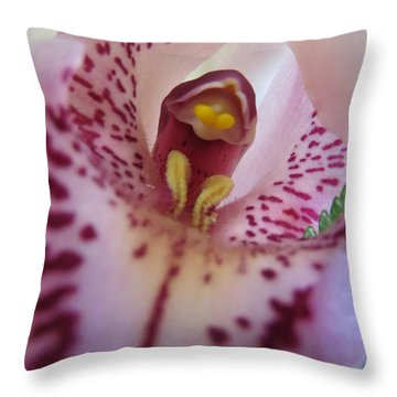 Lily Throw Pillow by Tim Townsend