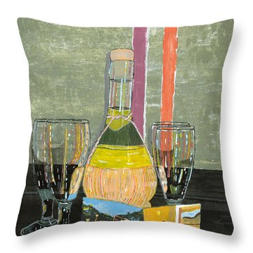 Limoncello In Cinque Terra Throw Pillow