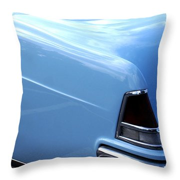 Lincoln Continental  Throw Pillow by Barbara Snyder