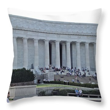 Lincoln Memorial 2 Throw Pillow
