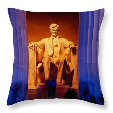 Lincoln Memorial, Washington Dc Throw Pillow