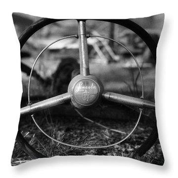 Lincoln Wheel Throw Pillow