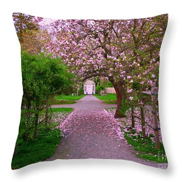 Linden Place Bristol Ri Throw Pillow