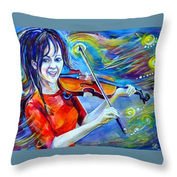 Lindsey Stirling Magic Throw Pillow