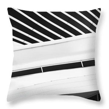 Line Form Throw Pillow by Jack Zulli