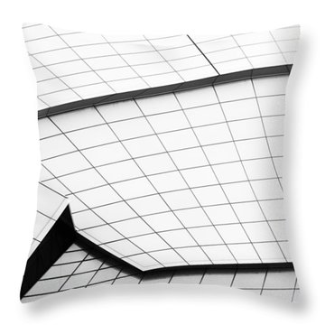 Lines And Shapes Throw Pillow