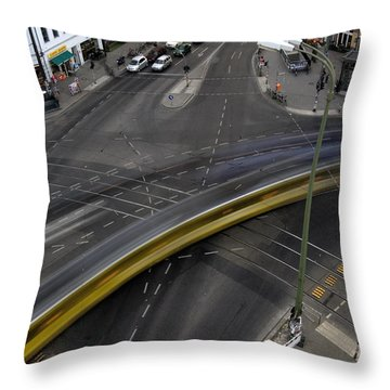 Lines And Strokes Throw Pillow by RicardMN Photography