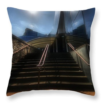 Throw Pillow featuring the photograph Lines N Textures by Robert McCubbin
