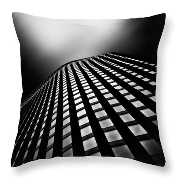 Lines Of Learning Throw Pillow