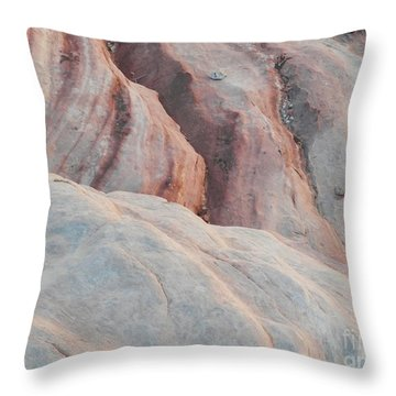 Lines Of Time Throw Pillow