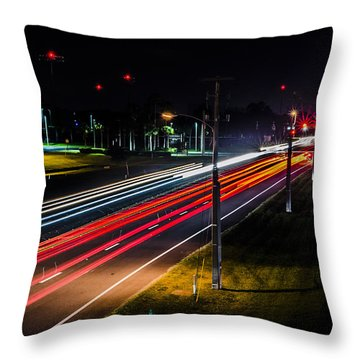 Lines To The Stars Throw Pillow