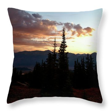 Linger Throw Pillow by Jeremy Rhoades