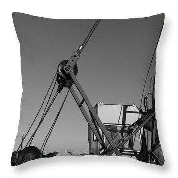 Throw Pillow featuring the photograph Lining by Maja Sokolowska