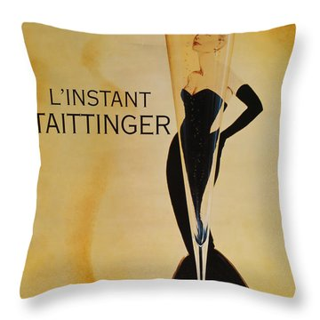 Taittinger Throw Pillows