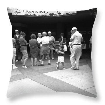 Lion King Disney World Florida Circ 1995 Throw Pillow