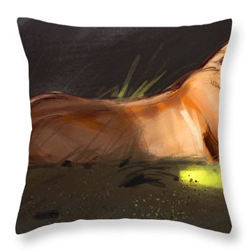 Lioness Throw Pillows