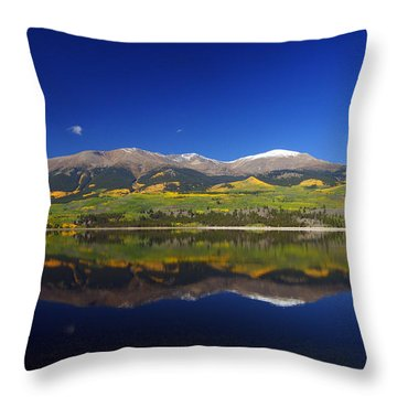 Liquid Mirror Throw Pillow