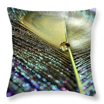 Liquid Reflection Throw Pillow