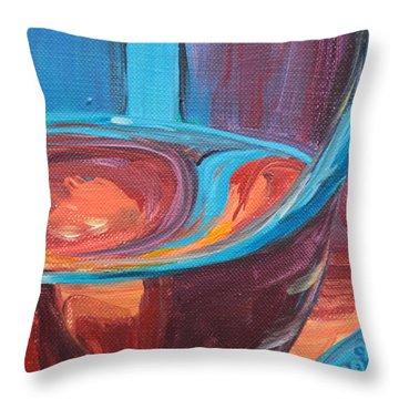 Liquid Sway Throw Pillow