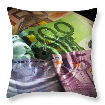 Liquidation Throw Pillow