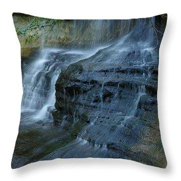 Throw Pillow featuring the photograph Listen by Randy Pollard