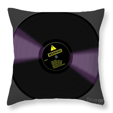 Listening Pleasure Throw Pillow