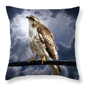 Throw Pillow featuring the photograph Listening To Gaia by Heather King