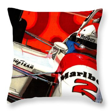 Little Al Throw Pillow