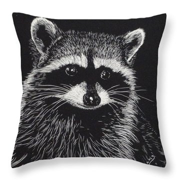 Little Bandit Throw Pillow