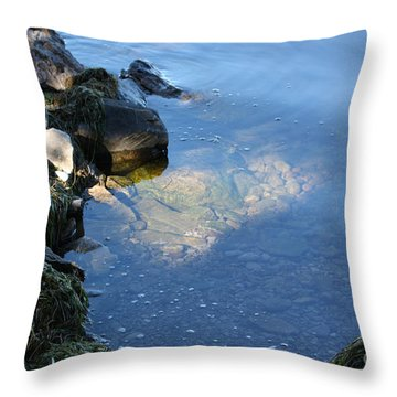 Little Bay Throw Pillow
