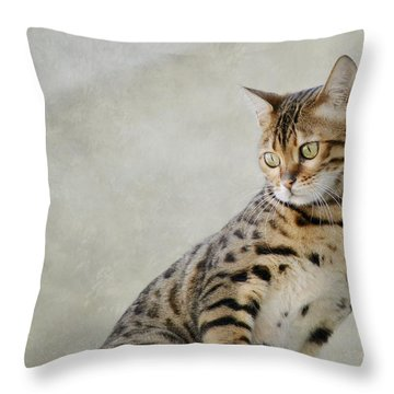 Little Beast Throw Pillow