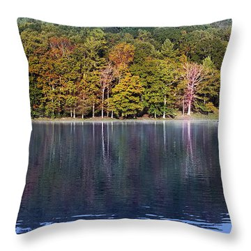 Little Beaver Lake Throw Pillow