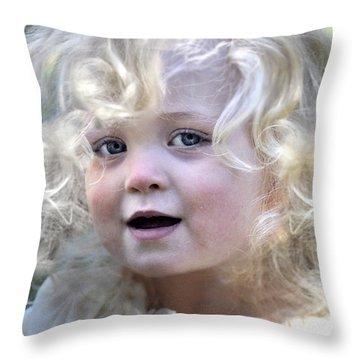 Little Beloved Throw Pillow