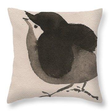 Little Birdie Throw Pillow