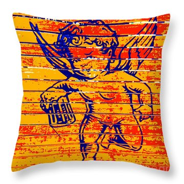 Little Creatures Beer Logo Throw Pillow