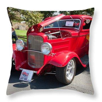 Little Deuce Coupe Throw Pillow