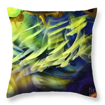 Little Fishes Throw Pillow
