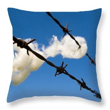 Little Fluffy Clouds 1 Throw Pillow