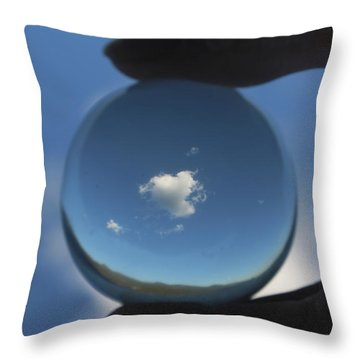 Little Heart Cloud Throw Pillow