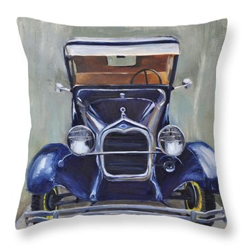 Little Henry Throw Pillow by Lindsay Frost