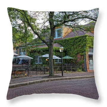 Little Hills Winery St Charles Mo Dsc00879  Throw Pillow
